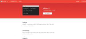 Angular CLI Home Page | Angular 7 Environment Setup